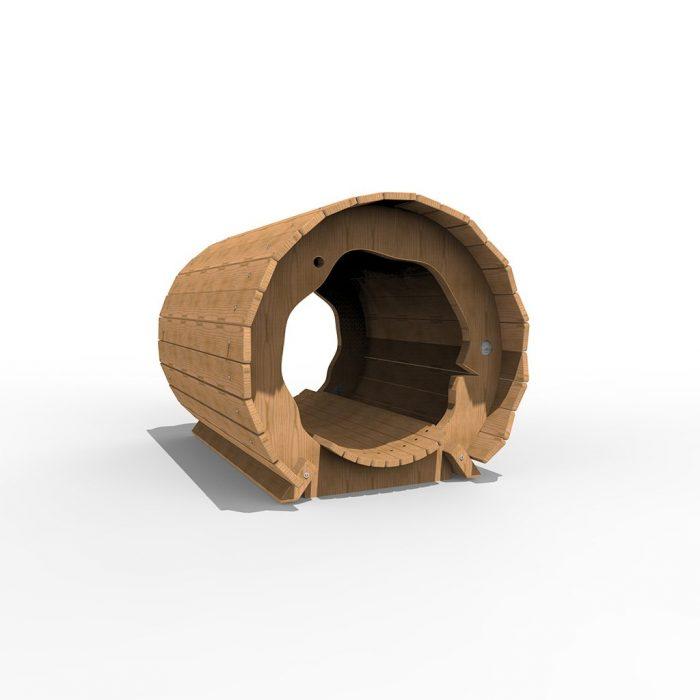 Hollow Log Play Equipment