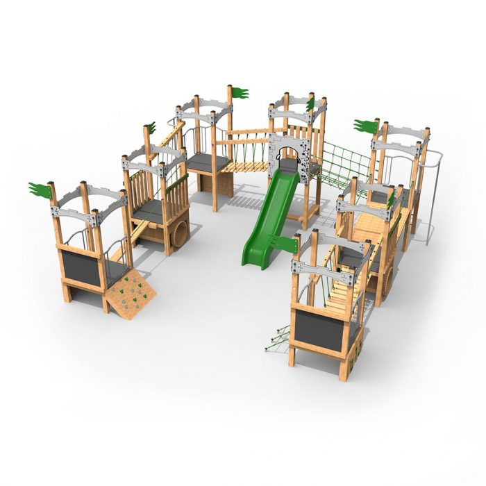 Castle Play Towers