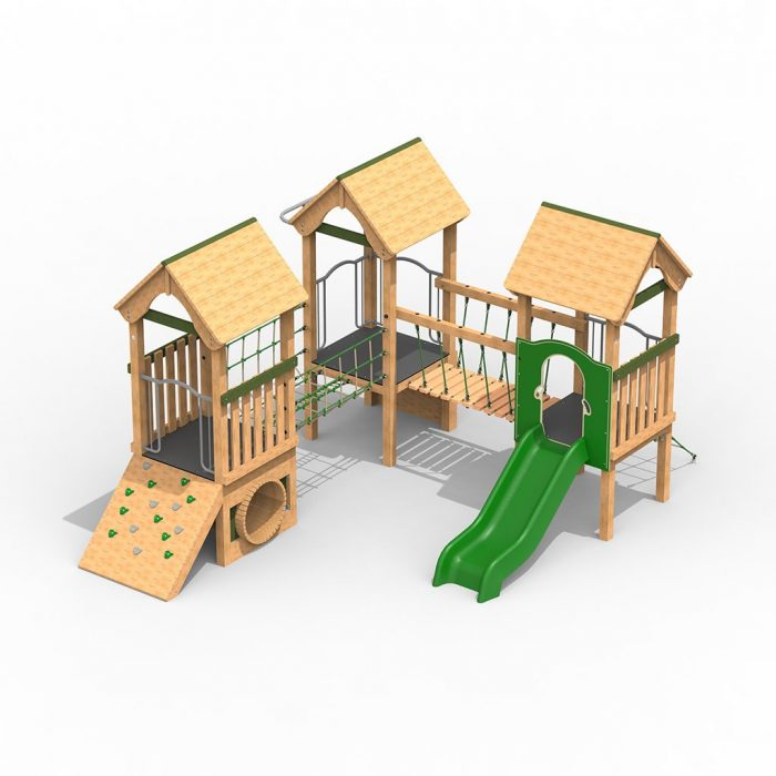 Timber Play Towers