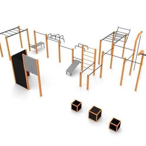 Callisthenic outdoor gym
