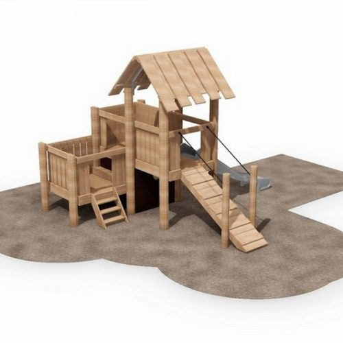 Robinia Fort 1 Play Tower