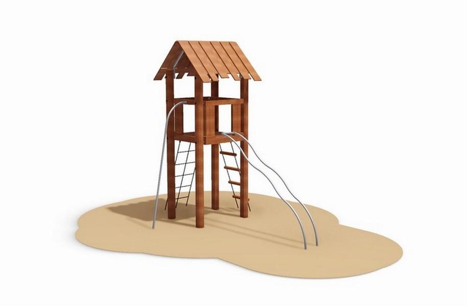 Robinia Play Tower
